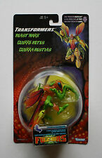 TRANSFORMERS BEAST WARS FUZORS EVIL PREDACON BUZZCLAW ACTION FIGURE MINT CARD