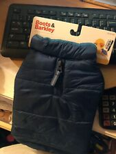 New listing New Boots & Barkley Small winter puff Jacket keep your best Friend warm ( blue)