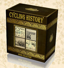 Antique Cycling History Books on DVD - Penny Farthing Bicycle Tricycle Wheel D1