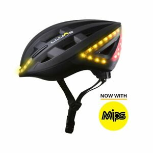 Fahrradhelm Lumos Kickstart Mips LEDs Blinker Bremslicht