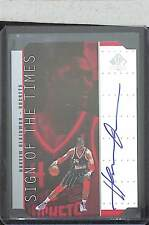 1998-99 Upper Deck SP Sign of the Times Silver Autograph #HO Hakeem Olajuwon