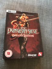Dungeon Siege ll Deluxe Edition - PC CD-ROM By Gas Powered Games - 2006