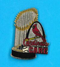 St. Louis Cardinals MLB baseball pin - 2011 Champions trophy - CARE - badge