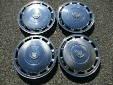 Factory 1989 to 1992 Cadillac Deville 15 inch hubcaps wheel covers set