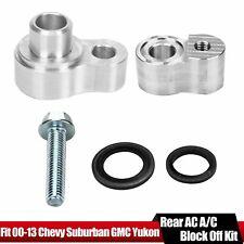 Ac A/C Block Off Kit For Rear Air 2000-2013 Chevrolet Chevy Suburban Gmc Yukon