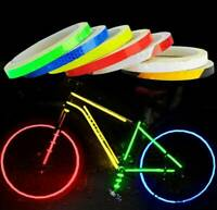 8M Reflective Stickers Bicycle Bike Car Motorcycle Safety DIY Reflector Tape