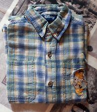 chemise bleu garçon manches courtes DISNEY WINNY L'OURSON-taille 4 ans (102 cm)