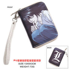 Hot Anime Death Note  Cosplay PU Leather short Purse Wallet