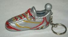 Collectible vintage metal Lighter and keychain - football soccer
