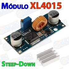 Modulo XL4015 alimentacion DC-DC regulable 5A 75w con disipador BUCK steep down