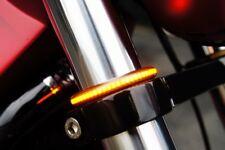 CLIGNOTANTS A LED SOUPLES POUR TUBE DE FOURCHE POUR HARLEY ET AUTRE MOTO