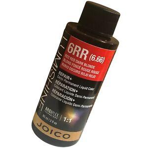 Joico Lumishine Demi-permanent Liquid Color 6RR Natural RedRed Dark Blonde 2oz