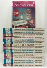 Family Circle Book 1974 Do It Yourself DIY 16 Volume Complete Set Encyclopedia