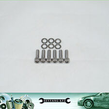 EDELSTAHL MOTORABDECKUNG Schrauben BMW E90 E91 E60 E61 325d 330d 525d 530d M57N2