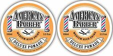 American Barber Styling Paste 2 X 100ml Dry Matt Finish Genuine Americanbarber