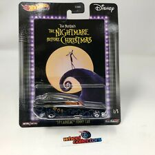 '59 Cadillac Funny Car Nightmare Christmas * Hot Wheels Pop Culture Disney * JC3