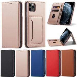 Stand Wallet Leather Flip Cover Case For iPhone 12 Pro 11 X XR XS Max 6 7 8 Plus