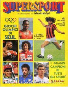 Supersport Olympics SEUL 1988 Complete Album Panini -in PDF-