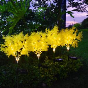 2Pcs Led Solar Rime Light Garden Yard Villa Waterproof Decoration Lawn Lamp
