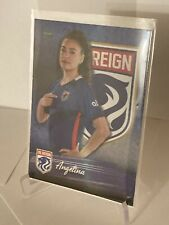 New listing 2021 Parkside NWSL Premier Edition Soccer Card 107 Angelina Rookie