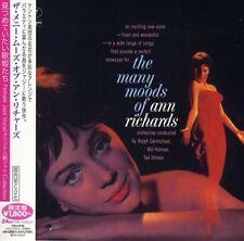 Ann Richards - Many Moods of Ann Richards [New CD] Japanese Mini-Lp Sleeve, Ltd