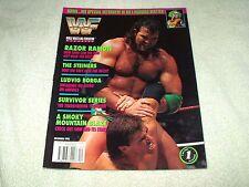 WWE Wrestling Magazine December 1993 Razor Ramon