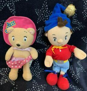 "Noddy & Tessie Bear Beanie Bottom Soft Toy by Golden Bear 6-8"""