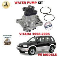 Per Suzuki Grand Vitara 2.5 2.7i 2.0 V6 Modelli 21998-2005 Nuovo Pompa Acqua