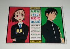 Kare Kano Kareshi Kanojo No Jijou Anime Masami Tsuda Pencil Board Shitajiki EX