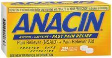 Anacin Tablets 300 Tablets (Pack of 8)