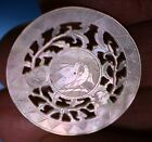 ANTIQUE CHINESE  MOTHER OF PEARL NON-ARMORIAL GAMING COUNTERS  CHIPS