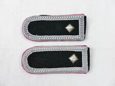WSS PANZER Oberscharführer (Feldwebel) Schulterstücke Schulterklappen