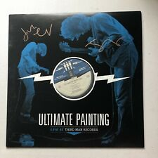 ULTIMATE PAINTING - LIVE @ THIRD MAN RECORDS HAND SIGNED 12'' RECORD AUTOGRAPHED