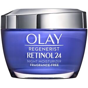 2 Box Olay REGENERIST RETINOL 24 NIGHT FACE MOISTURIZER FRAGRANCE FREE