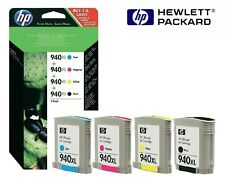 4x ORIGINAL TINTA HP Officejet Pro 8000 8500a Plus 940xl C4906AE c4907ae-c4909a