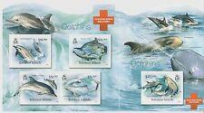 Solomon Islands Save Solomons Dolphins 2012 Stamp Sheet Mint