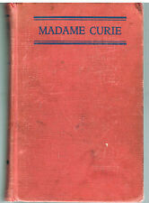 Madame Curie by Eve Curie 1937 1st Ed. Rare Vintage Book!   $