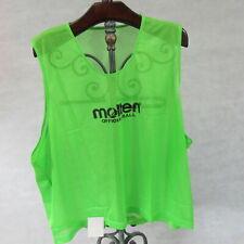 Molten Team Sports Bibs 10 x Green 1 x Blue - 3XL - Team Pack of 11
