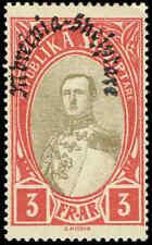 Mnh Cv$13+ Cheap Price Albania 1928 Old Kingdom Stamp 4 Key Values