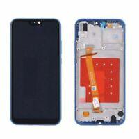 Huawei P20 Lite LCD Display BLAU Touchscreen Digitizer Glas + INKL. RAHMEN