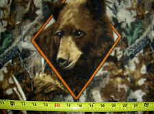 RealTree Diamond Deer Doe Buck Stag Moose Bear Turkey Hunting 1503 FLEECE Fabric