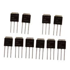 10pcs N-Kanal-Leistungs-MOSFET 2n60 Niedrige Gate-Ladung 2a 600v