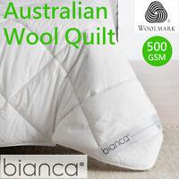 Australian Wool Duvet | Quilt by Bianca | 550GSM | Woolmark Accredited