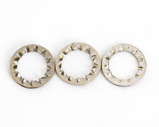 3mm M3 A2 STAINLESS INTERNAL SERRATED SHAKEPROOF WASHERS LOCK WASHER 100 PACK