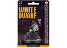 WHITE DWARF Limited Edition 2014 Subscription Miniature WARHAMMER Citadel Finec.