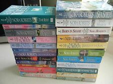Nora Roberts Books, Lot of 23 Books