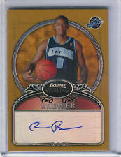 2006-07 BOWMAN STERLING GOLD RONNIE BREWER AUTO RC /349