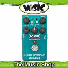 New MXR Bass Chorus Deluxe Effects Pedal - M83