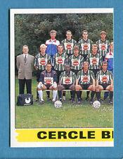 FOOTBALL 96 BELGIO Panini - Figurina-Sticker n. 88 - CERCLE BRUGGE SX -New