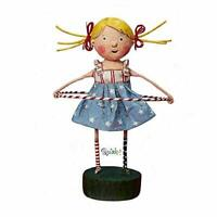 Lori Mitchell Twist & Shout Red White & Blue Patriotic July 4th Figurine 5.5""